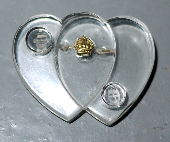 RAF WW2 perspex sweetheart brooch