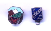 International Tourism badge and hiking/mountaineering badge