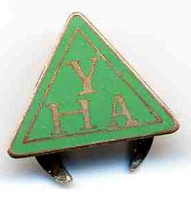 Youth Hostel Association enamel badge