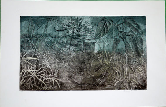 Richard Bawden etching