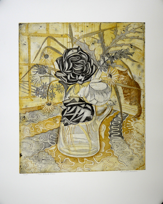 Richard Bawden aquatint