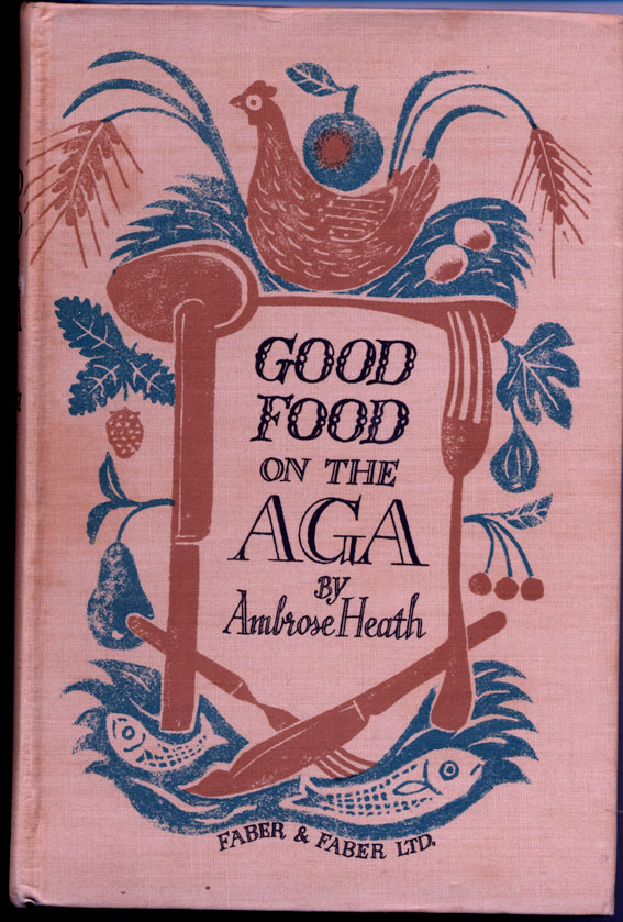 Edward Bawden Good Food on the AGA first edition