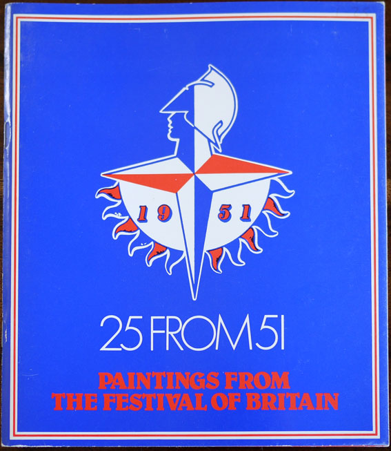 scarce catalogue of paintings from the Festival of Britain
