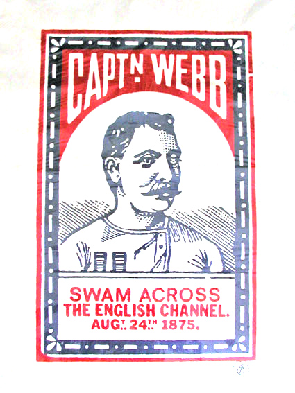 captain webb print