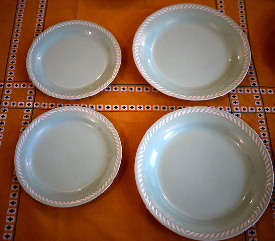 Figgjo Flint Norway Set Of Plates