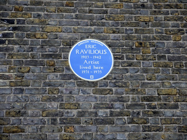 Eric Ravilious blue plaque