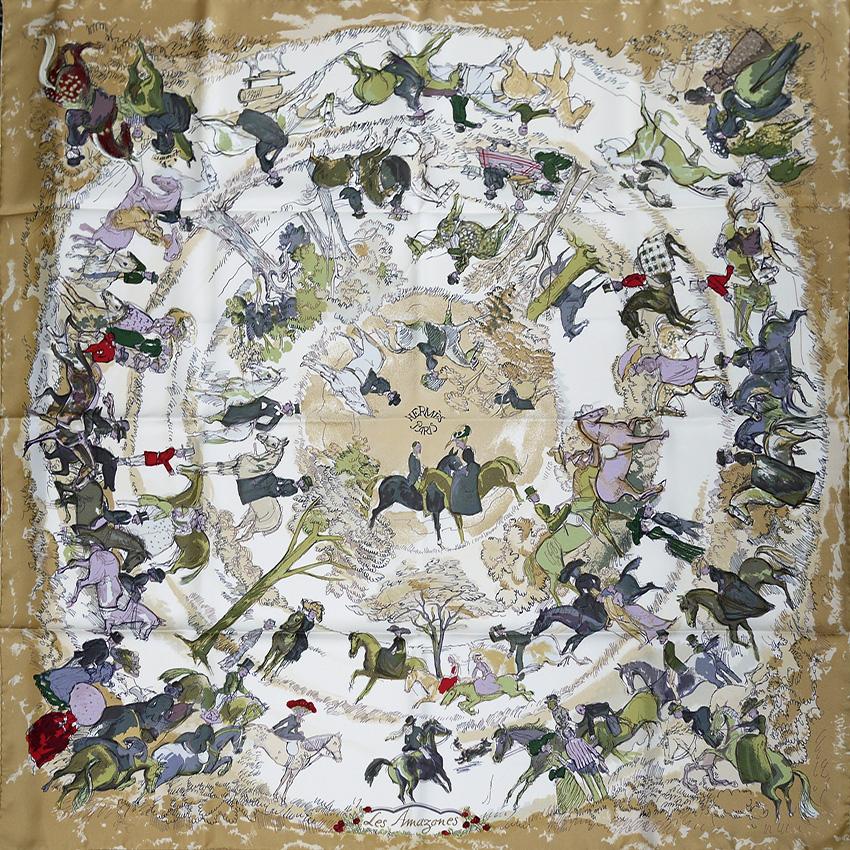 d1354518e756 Vintage Hermes scarves