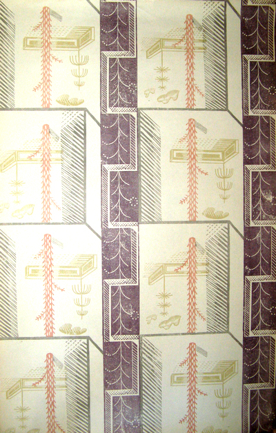 edward bawden original wallpaper