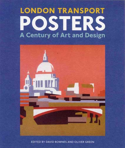 London Transport posters book