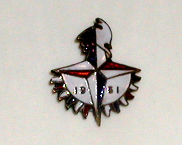 Festival of Britain enamel badge