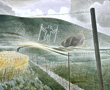 ravilious giclee print long man of Wimington