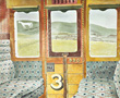 Ravilious giclee print train landscapee