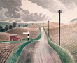 ravilious giclee print wiltshire landscape