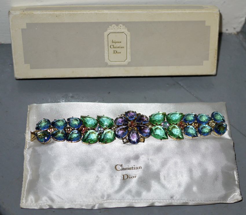 Christian Dior bracelet in original box