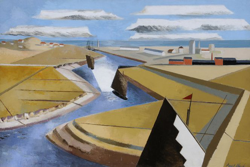 Paul Nash Rye Marshes giclee limited edition print