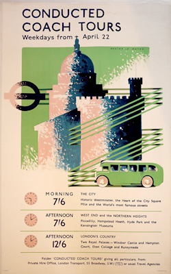 Reginald Mayes Coach Tours original poster
