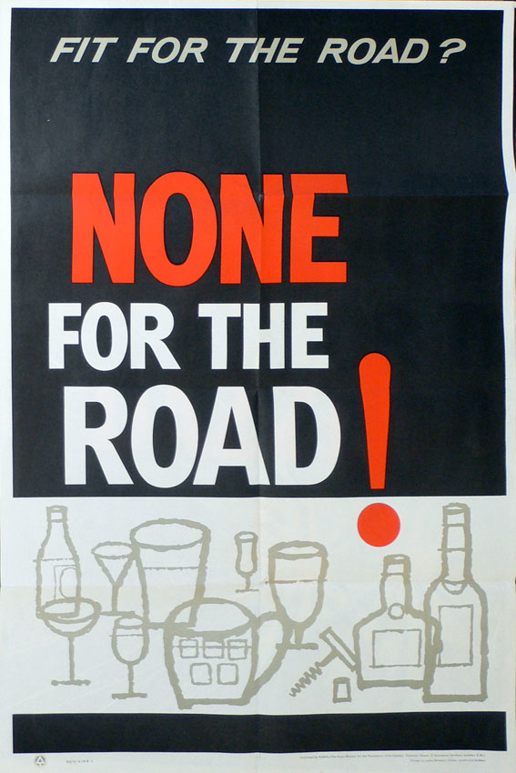 origina road safety poster drink driving