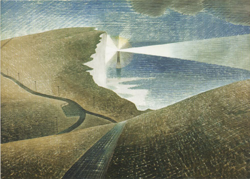 Ravilious Beachy Head greetings card