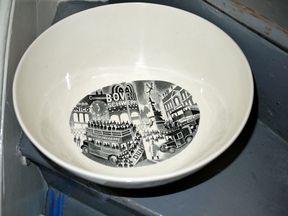 Ravilious boatrace bowl