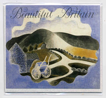Ravilious greetings card Beautiful Britain