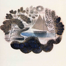 Ravilious greetings card