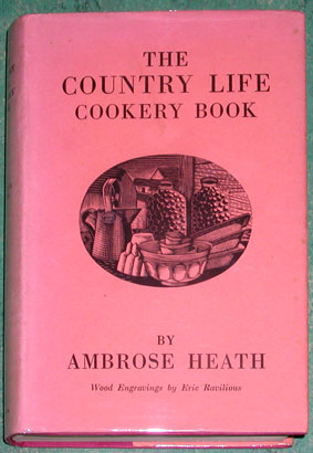 Ravilious cookery book