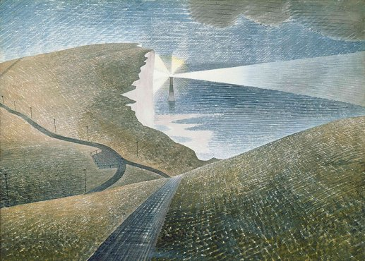 Beachy Head by Ravilious giclee print