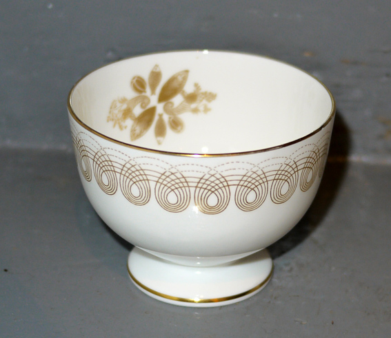 Golden Persephone Ravilious sugar bowl