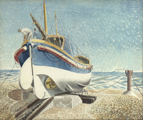 Eric Ravilious lifeboat giclee print Eastbourne