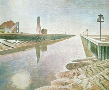 Rye Harbour Ravilious giclee print
