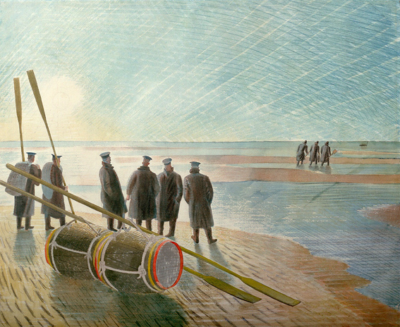 Ravilious Dangerous Work at Low Tide giclee print