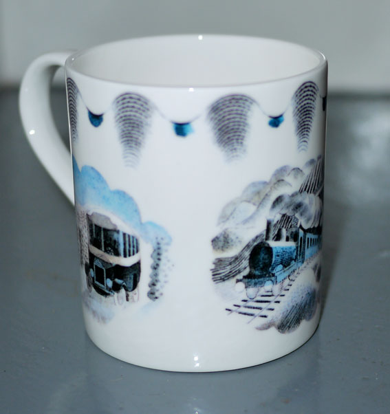 Ravilious travel bone china mug