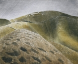 Ravilious giclee print Vale of White Horse Uffington