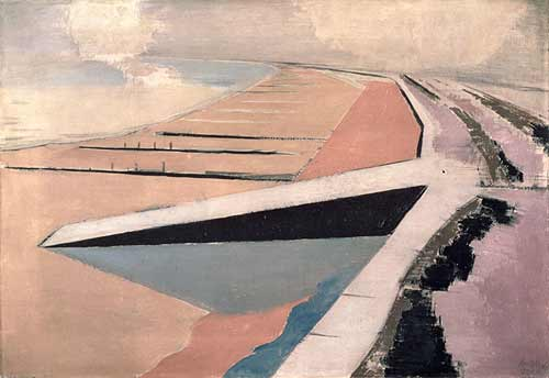 paul nash giclee print The Shore Dymchurch