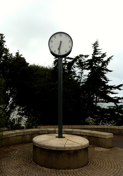 French Revolutionary clock on the Leas Folkestone