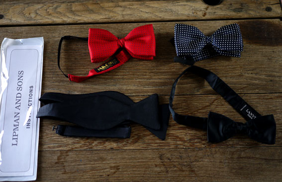 vintage silk bowties