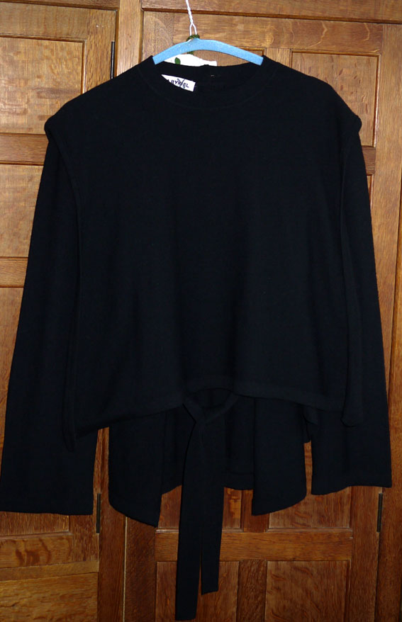 vintage Sonia Rykiel pure wool layered jumper